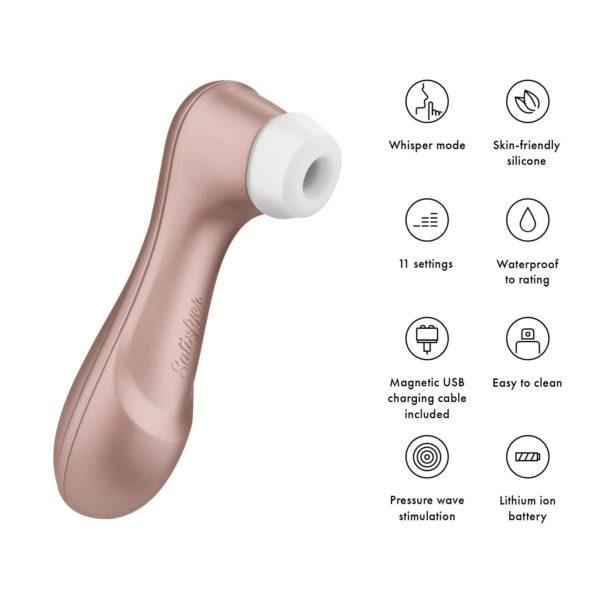 Satisfyer Pro 2 Next Generation Clitoral Stimulator