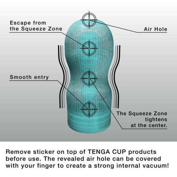 Tenga Premium Vacuum CUP Soft Male Masturbator